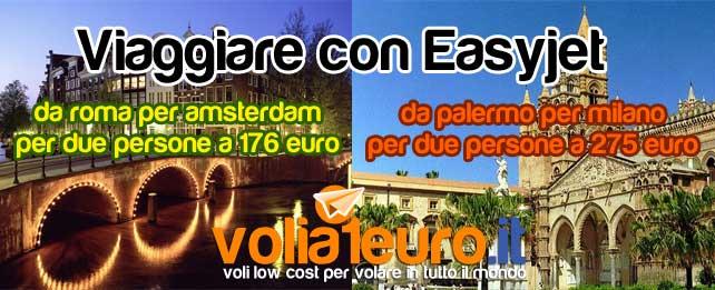 Viaggiare con easyjet for Voli low cost amsterdam