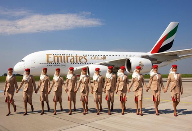 Vola con Emirates e risparmia il 30%