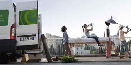 EuropeCar: prenota il tuo furgone a partire da 9 euro l'ora