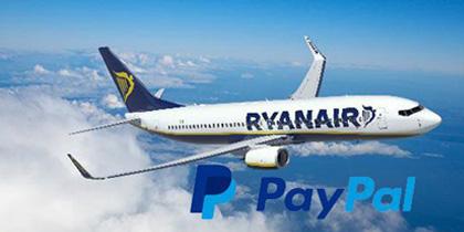 Ryanair: pagare con Paypal, ora è possibile!