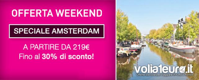 Amsterdam Pacchetto Volo Hotel