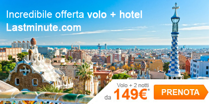 Pacchetto vacanza: il miglior prezzo te lo garantisce Lastminute.com