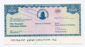 Traveller's Cheque in vacanza?