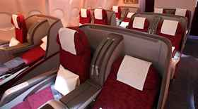 Offerte last minute per la business class di Qatar Airways
