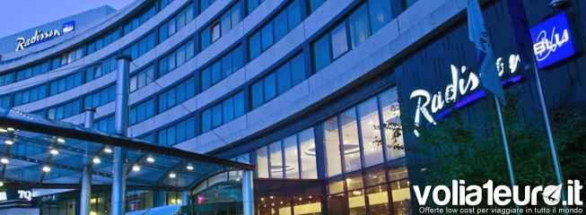 Radisson Blu, 20% di sconto per prenotazioni anticipate