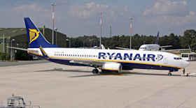 Ryanair, voli a 1 euro da e verso Roma