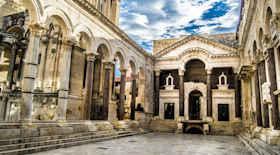 Palazzo di Diocleziano di Spalato – i monumenti di Spalato