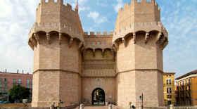 Torres de Serranos di Valencia – i monumenti di Valencia