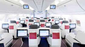 Come effettuare un upgrade di classe con Austrian Airlines