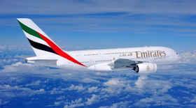 Emirates vola a Chicago con l'A380