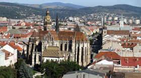 Turista nella città Kosice – Stato Slovacchia – Ecco cosa visitare