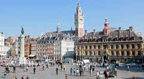 Turista nella città Lilla – Stato Francia – Ecco cosa visitare