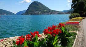 Turista nella città Lugano – Stato Svizzera – Ecco cosa visitare