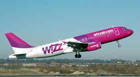 Wizz Air, sconto del 20% su tutte le rotte da e per la Romania