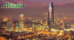 Da Roma a Santiago del Cile con i nuovi voli Alitalia