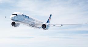 Viaggia nel futuro con l'Airbus A 350 di Lufthansa