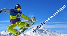 Vola in montagna a partire da 49 Euro con Air Baltic