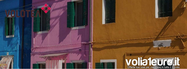 Parti con Volotea a partire da 324 Euro tutto incluso volo+hotel