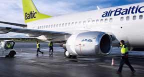 Vola nelle mete sciistiche con Air Baltic a partire da 35 Euro