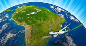 Sconto del 18% per volare in Sud America in classe Magnifica di Alitalia