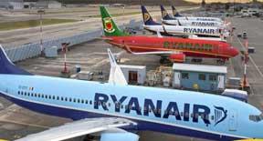 Sconto del 50% per noleggiare un'auto con Ryanair