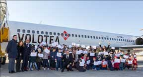 Festeggia il rientro a scuola con dei voli Volotea gratuiti riservati ai bambini