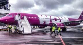 Vola in America del Nord a partire da 99,99 Euro con WOW air