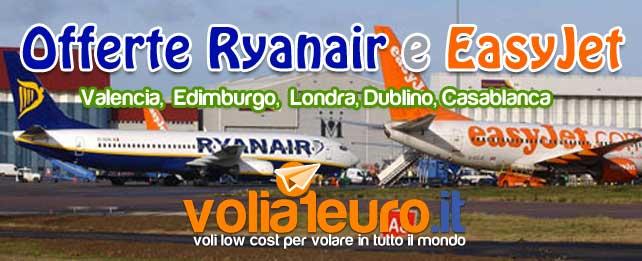 Offerte Ryanair e Easyjet