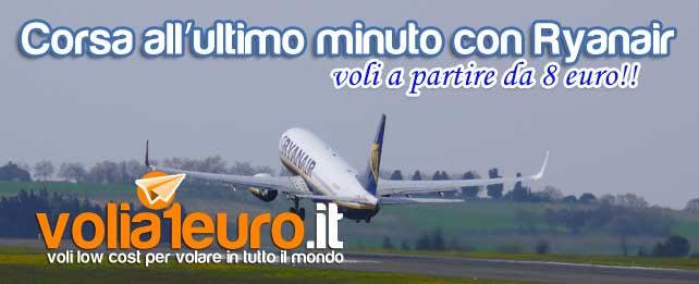 Corsa all'ultimo minuto con Ryanair