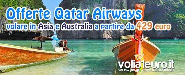 offerte Qatar asia e australia