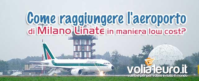 Come raggiungere l'aeroporto di Milano Linate?