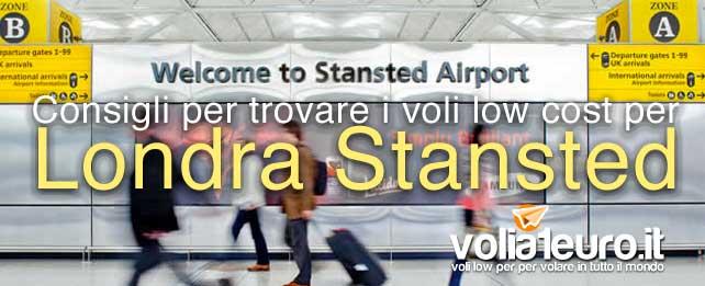 Consigli per trovare i voli low cost per Londra Stansted