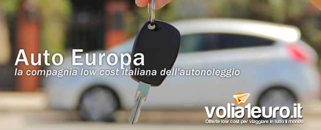 Auto Europa: la compagnia low cost italiana dell'autonoleggio