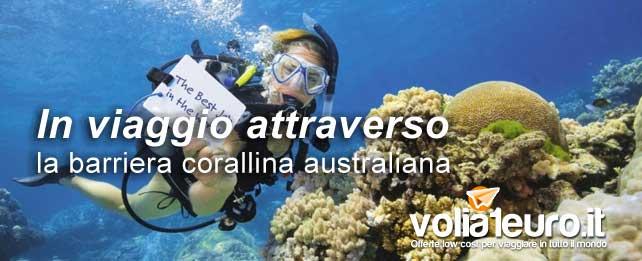 In viaggio attraverso la barriera corallina australiana