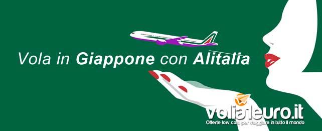 Vola in Giappone con Alitalia