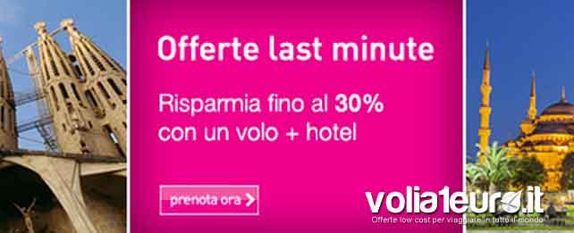 lastminute offerte volo+hotel