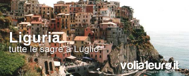 Luglio in festa: tutte le sagre della Liguria