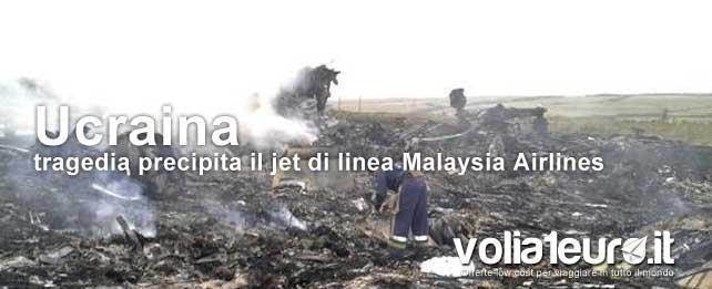 malaysia airlines abbattuto da un missile