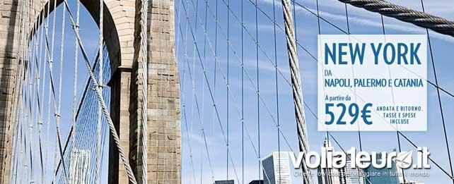 New York voli low cost con Meridiana