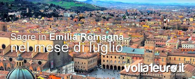 sagre Emilia Romagna a Luglio