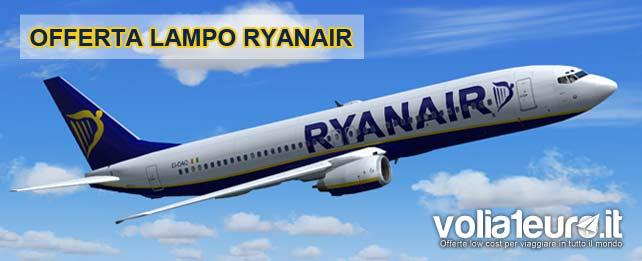 Ryanair-offerta-voli-a-partire-da-19euro