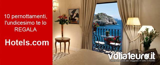 notte gratis hotels.com