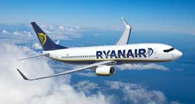 Vola con Ryanair a soli 9,70€ per Versavia e Dusseldorf