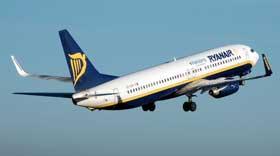 Ryanair sconta i voli infrasettimanali del 20%