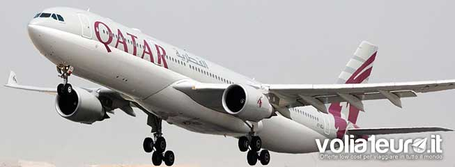 qatar sconto voli