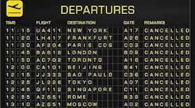 Chiuso lo spazio aereo belga, 150 voli cancellati