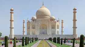Taj Mahal di Agra – i monumenti di Agra