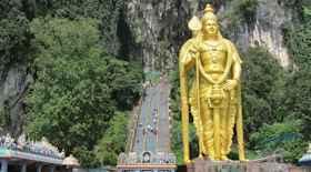 Batu Caves di Kuala Lumpur – i monumenti di Kuala Lumpur