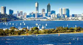 Turista nella città Perth – Stato Australia – Ecco cosa visitare