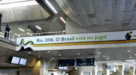 L'aeroporto di Rio si rifà il look per le Olimpiadi 2016